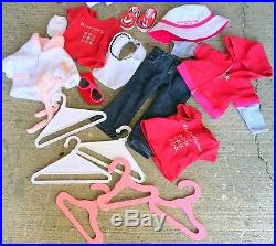 American Girl Doll Molly Accessories Outfits Clothes Lot Wardrobe Lot 25+ #JT