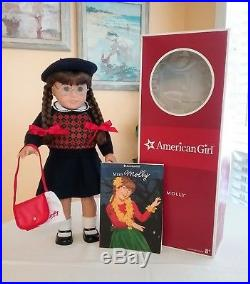 American Girl Doll Molly Lot (Doll/Box/Meet Outfit/Accessories/Book)