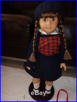 American Girl Doll Molly WithMeet Outfit Accessories, Purse Penny, Desk chair & +