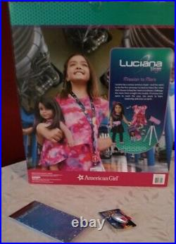 American Girl Doll NASA Astronaut Luciana Starry Night Outfit Telescope + Extras
