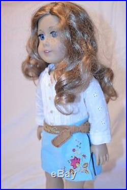 American Girl Doll Nikki, Girl of the Year 2017 + riding outfit, original outfit
