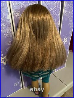 American Girl Doll Of The Year 2012 McKenna 18 Doll In Full Meet Outfit Used