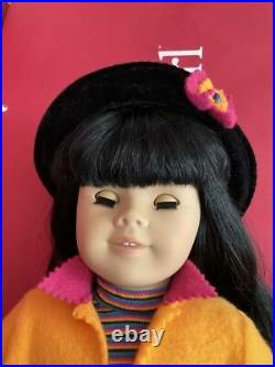 American Girl Doll PC Asian #4 Stamp on Neck & Girl of Today First Meet Outfit