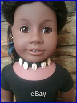American Girl Doll Pleasant Company Addy Meet Addy Outfit & African folk dance