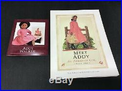 American Girl Doll Pleasant Company Addy Walker 18 Doll withOriginal Pink Outfit