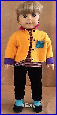 American Girl Doll Pleasant Company GT3 First Day Outfit 1996 of Today blonde