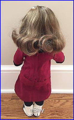 American Girl Doll REBECCA with complete Meet Outfit & School Outfit + Book