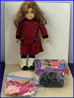 American Girl Doll, Rebecca Rubin with 3 Outfits and Book Set, witho box