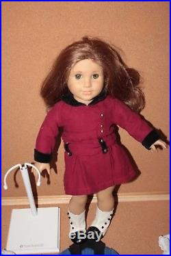 American Girl Doll Rebecca with 3 Extra Outfits + Stand