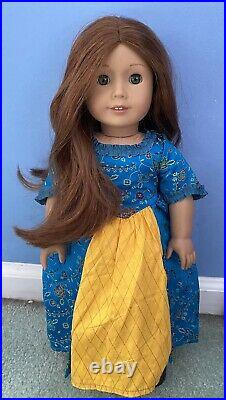 American Girl Doll Retired Felicity Merriman BeForever with outfit