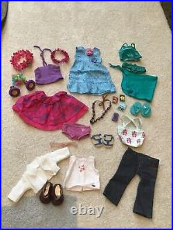 American Girl Doll Retired Kanani Outfit Meet With Accessories Perfect 4 Gift