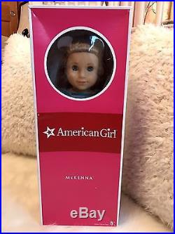 American Girl Doll Retired McKenna with Complete Meet Outfit, Pierced Ears & Box
