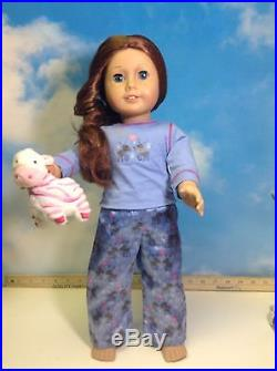 American Girl Doll Saige Outfit Earrings, (B)