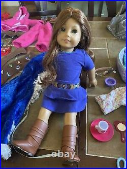 American Girl Doll Saige With Lots Of Outfits And More