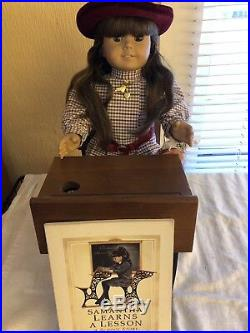 American Girl Doll Samantha 18 Retired 1994 Pleasant Company Original Outfit