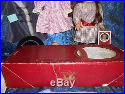 American Girl Doll Samantha Pc Original Box Books, Meet Plus Extra Outfits