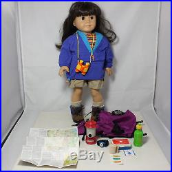American Girl Doll, Samantha with Hiking Outfit I & Orienteering Acc PC, witho box