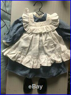 American Girl Doll Samanthas Steamer Trunk with two outfits included