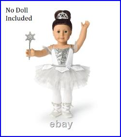 American Girl Doll Snow Queen Outfit Nutcracker Ballet NEW! Limited Edition