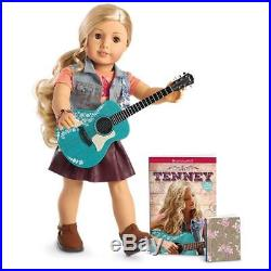 American Girl Doll Tenney & Accessories Guitar Book Performance Outfit Bundle