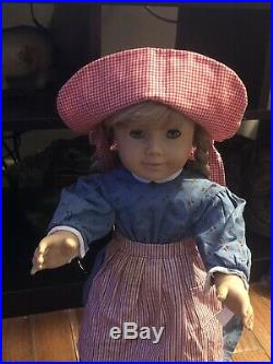 American Girl Doll WHITE BODY Kirsten Meet Outfit Pleasant Company Retired