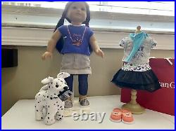 American Girl Doll Z Yang With Camera Ready Outfit, Pet & Sightseeing Outfit