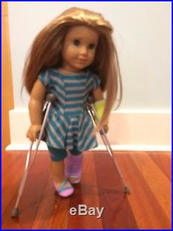 American Girl Doll of the Year McKenna in Meet Outfit + Leotard & Accessories