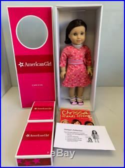 American Girl Doll of the year 2009 Chrissa NRFB Doll, 2 outfits, Book