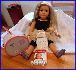 American Girl Doll of the yr 2014, Isabelle including outfits, books, earings