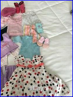 American Girl Dolls Large LOT Collection 3 Dolls with Outfits Shoes and More
