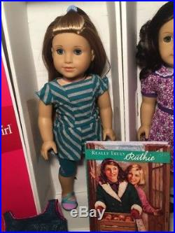 American Girl Dolls McKenna And Ruthie New Boxes Outfits Lot Excellent