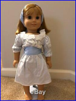 American Girl Dolls, Retired Samantha and Friend Nellie in Meet Outfits