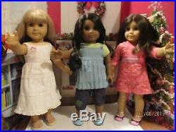 American Girl Dolls Sonali Chrissa Gwen Best Friends Meet Outfits + Books