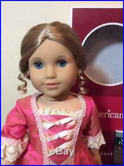 American Girl ELIZABETH DOLL EEUC in Box Outfit Accessories Book