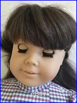 American Girl Early Pleasant Company Samantha In Meet Outfit Accessories! EUC