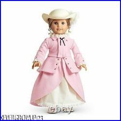 American Girl Elizabeth Pink Riding Dress Outfitjacketskirtunderskirthatnib
