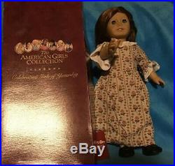 American Girl FELICITY DOLL Wearing Rose Garden Outfit Pleasant Company