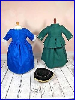 American Girl Felicity Doll with Outfits LOT Historical Series Pleasant Company