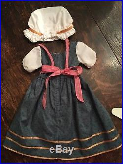 American Girl Felicity Town Fair Complete Outfit, Windmill Rare Pleasant Company