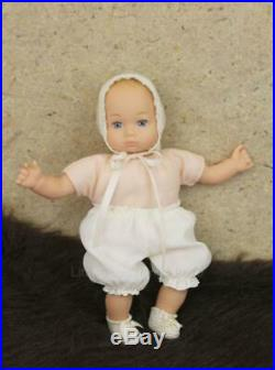 American Girl Felicity's Baby Sister Polly Doll 8 RETIRED with Outfit & Hat