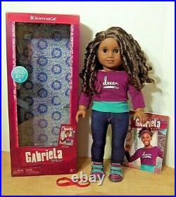 American Girl GABRIELA DOLL Mint In Box With Outfit & Book