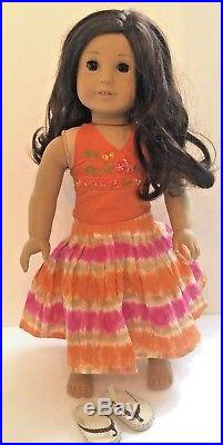 American Girl GOTY 2006 JESS Doll in Original Outfit Very good