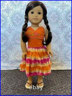 American Girl GOTY 2006 Jess (WithBox+Book) FULL MEET OUTFIT (READ DESC!)