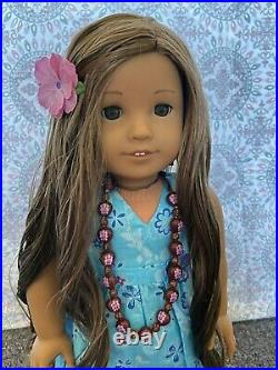American Girl GOTY 2011 Kanani (With Box+Book) COMPLETE MEET OUTFIT (READ DESC!)