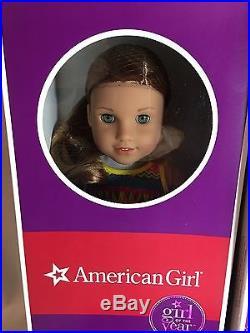 American Girl GOTY LEA CLARK DOLL & OCEAN KAYAK CELEBRATION & BAHIA OUTFITS NEW