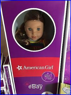 American Girl GOTY LEA CLARK DOLL With ANIMALS OUTFITS ACCESS 12-PC HUGE LOT NEW