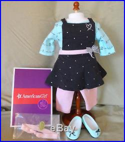American Girl GRACE BAKING SET & BAKING OUTFIT + SPATULA- New In Boxes- COMPLETE