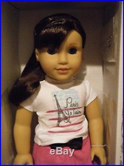 American Girl GRACE THOMAS DOLL GOTY Meet Outfit Bracelet + Pierced Ears NEW 18