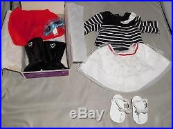 American Girl Grace Thomas Doll+welcome Gifts Sightseeing Outfit +accessories