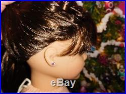 American Girl Grace Thomas Lot Doll Dog Bon Bon Travel Set Earrings City Outfit